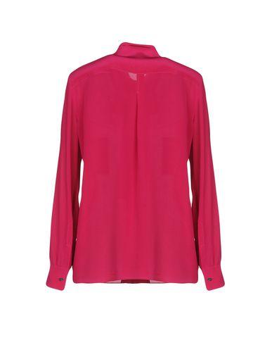 Фото 2 - Pубашка розовато-лилового цвета