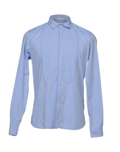 Фото - Pубашка от OFFICINA 36 небесно-голубого цвета