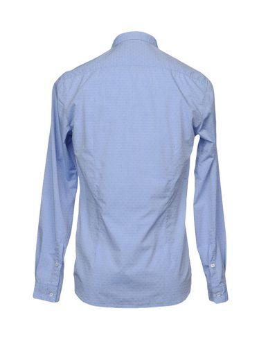 Фото 2 - Pубашка от OFFICINA 36 небесно-голубого цвета