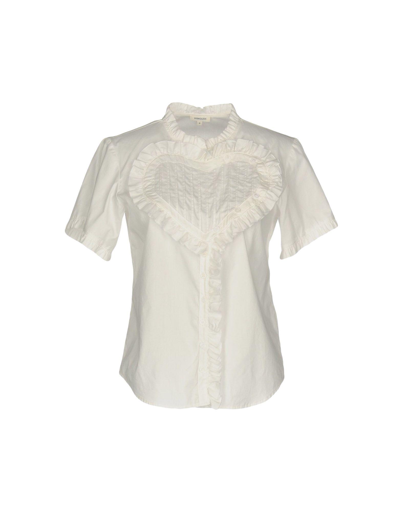 レディース MANOUSH シャツ ホワイト
