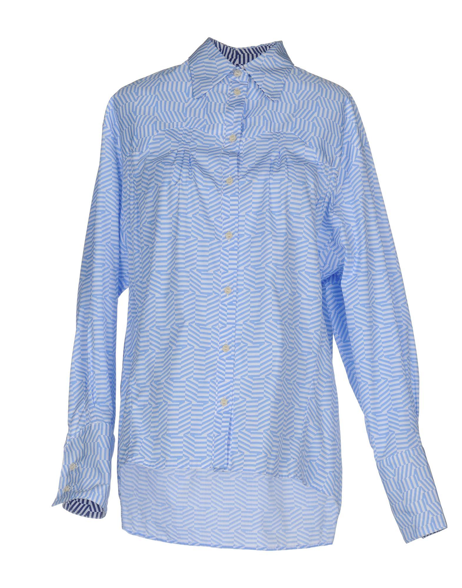 THIERRY COLSON Pубашка thierry colson платье длиной 3 4
