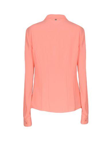 Фото 2 - Pубашка лососево-розового цвета