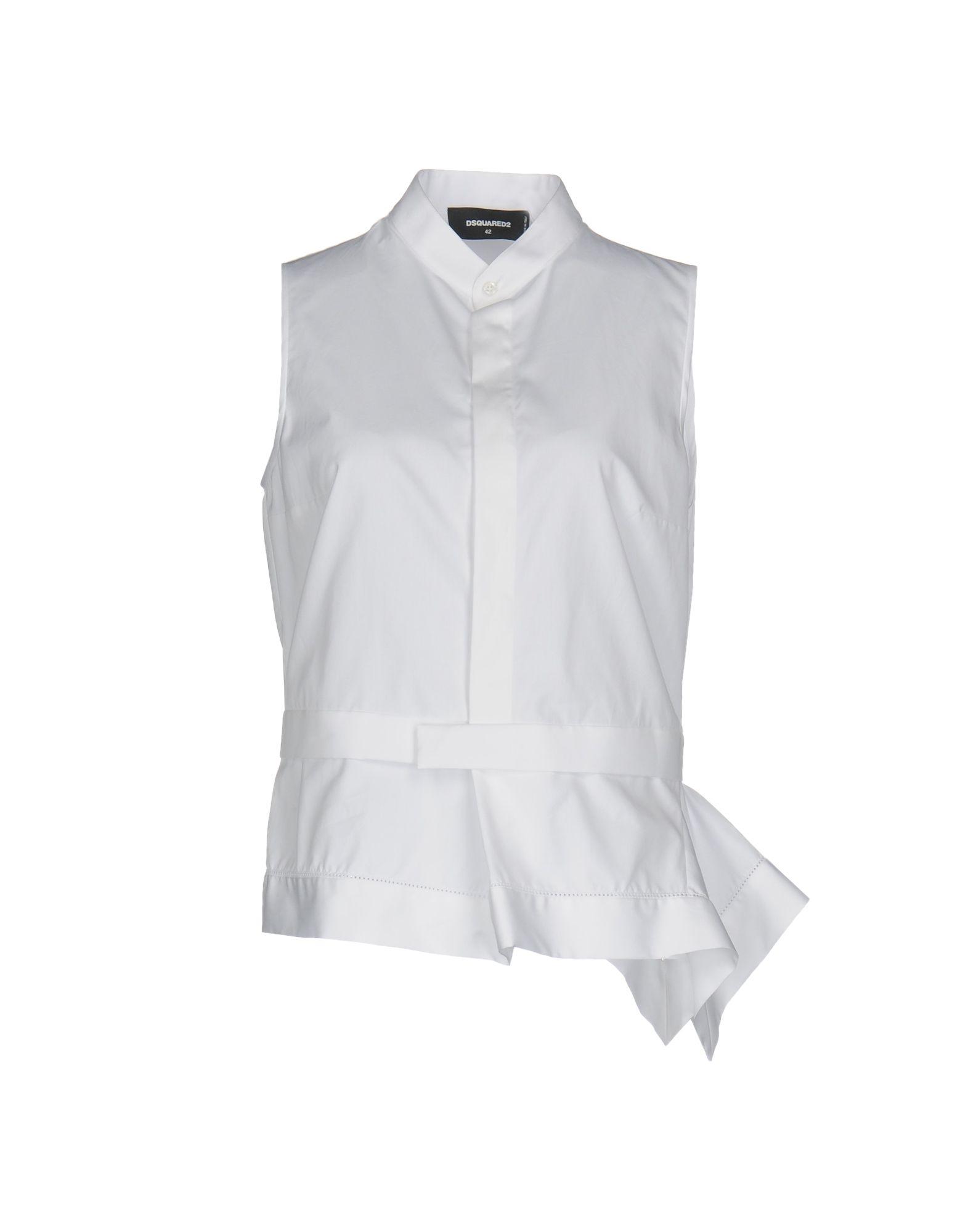 DSQUARED2 Damen Hemd Farbe Weiß Größe 6 jetztbilligerkaufen