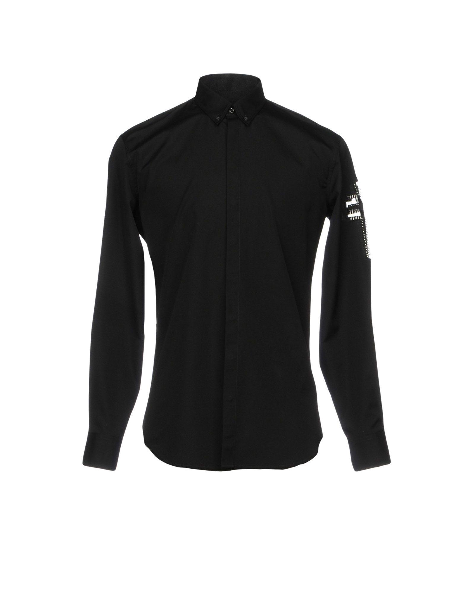 DSQUARED2 Herren Hemd Farbe Schwarz Größe 5 jetztbilligerkaufen