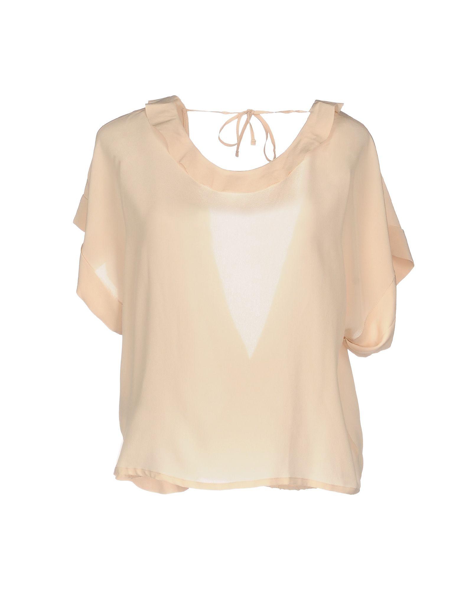 PINKO Damen Bluse Farbe Rosa Größe 5 - broschei