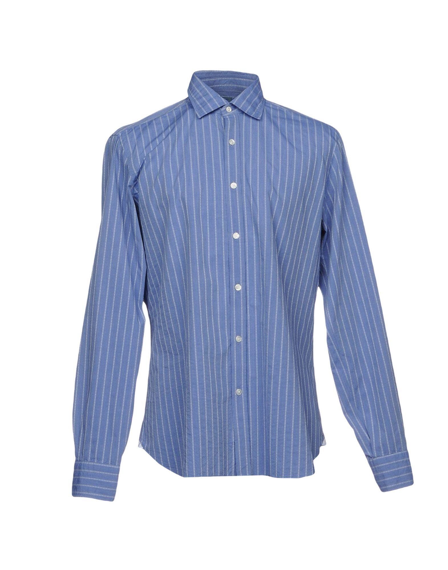 BARBA Napoli Herren Hemd Farbe Azurblau Größe 7 - broschei