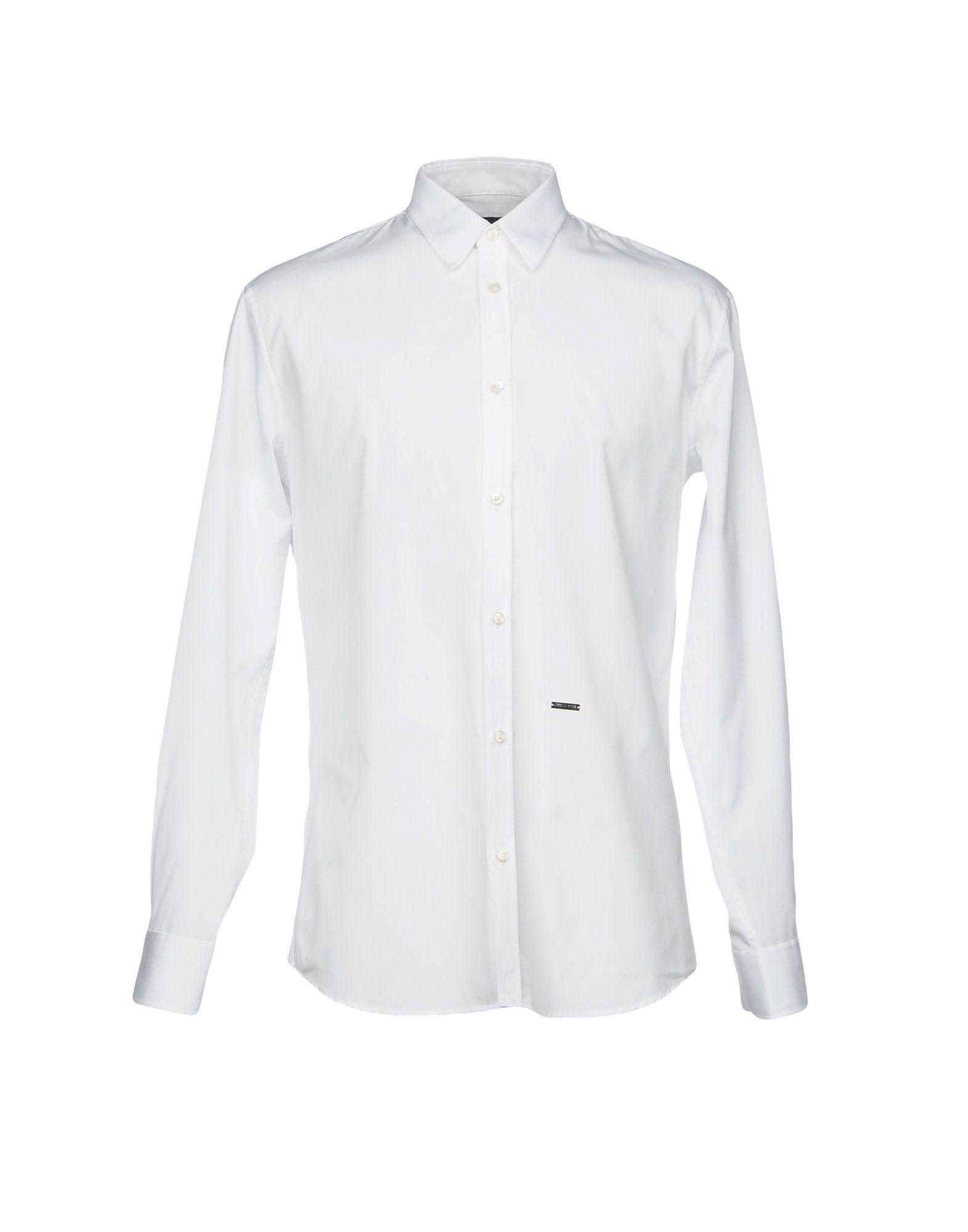 DSQUARED2 Herren Hemd Farbe Weiß Größe 6 - broschei
