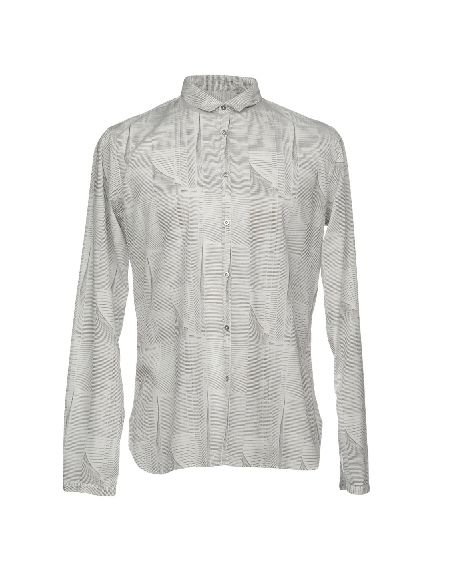 6167 Herren Hemd Farbe Hellgrau Größe 8