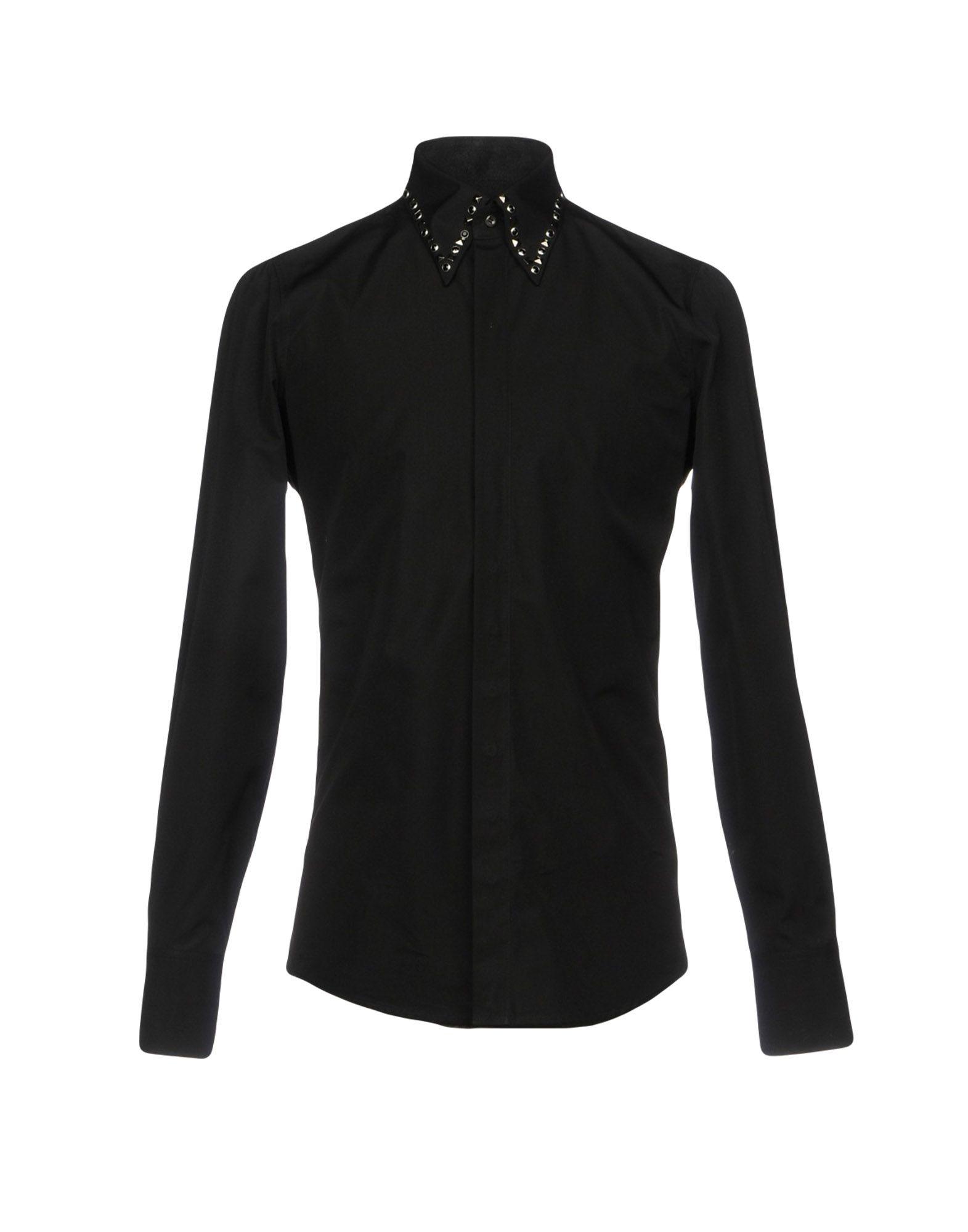 DSQUARED2 Herren Hemd Farbe Schwarz Größe 5 - broschei