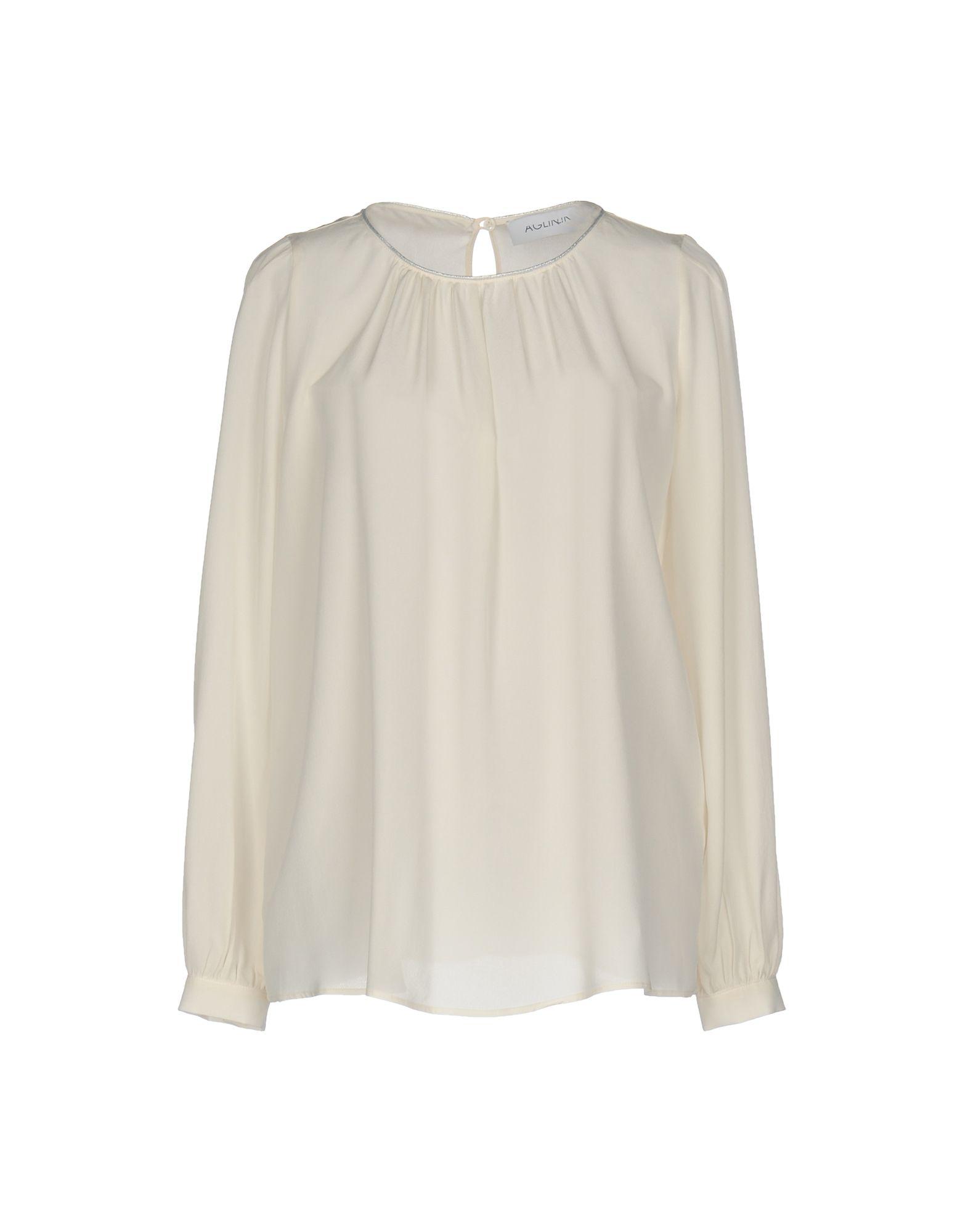 AGLINI Damen Bluse Farbe Elfenbein Größe 6 jetztbilligerkaufen