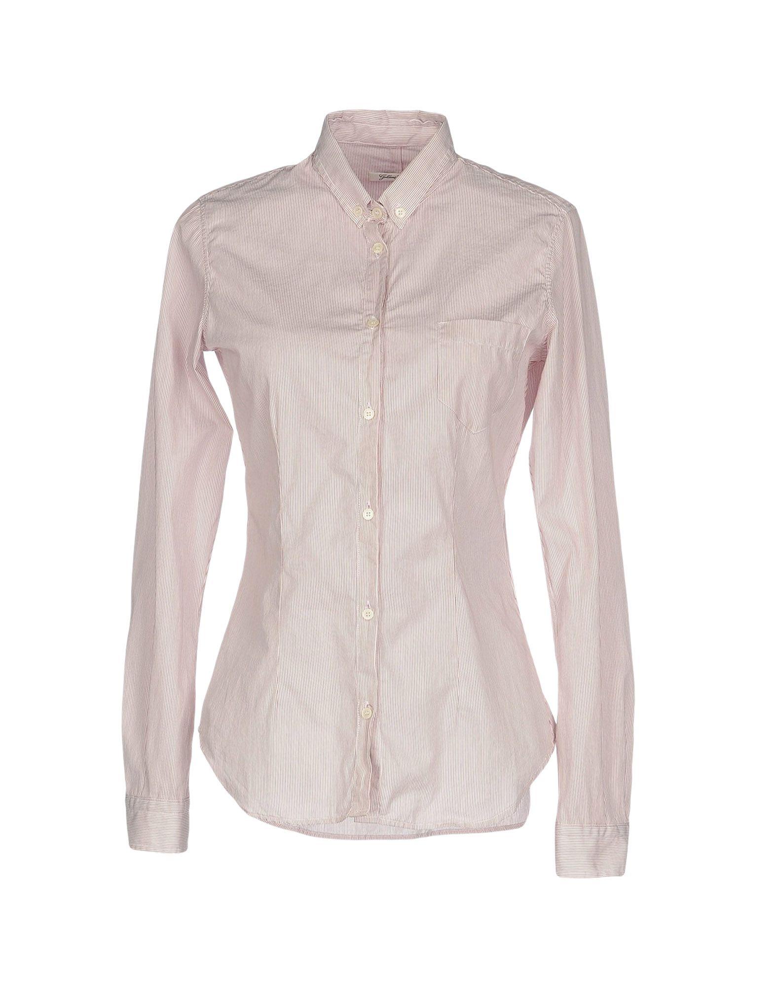 GOLDEN GOOSE DELUXE BRAND Damen Hemd Farbe Pflaume Größe 3 jetztbilligerkaufen