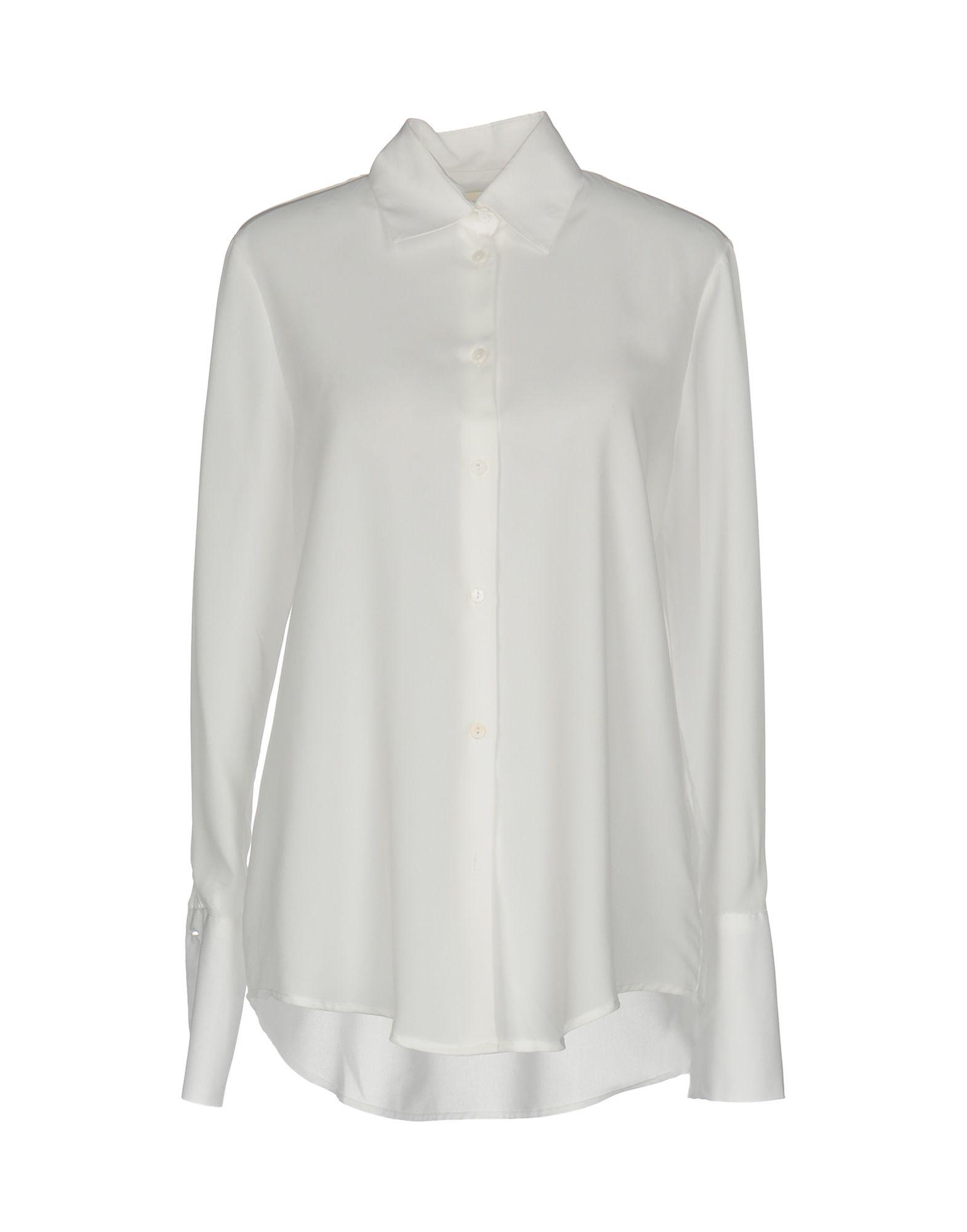 NINEMINUTES Damen Hemd Farbe Weiß Größe 2 - broschei