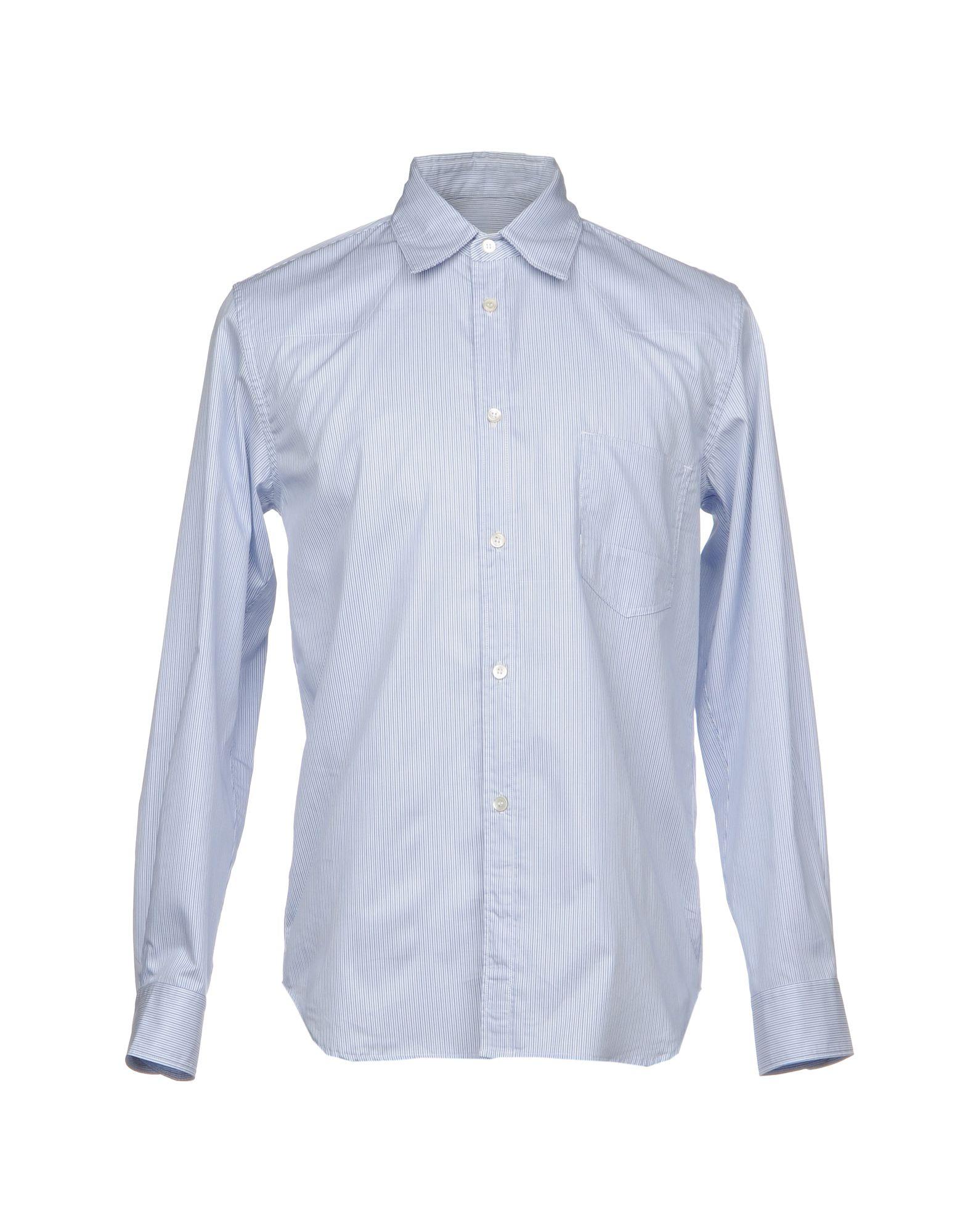 GOLDEN GOOSE DELUXE BRAND Herren Hemd Farbe Blau Größe 4 - broschei