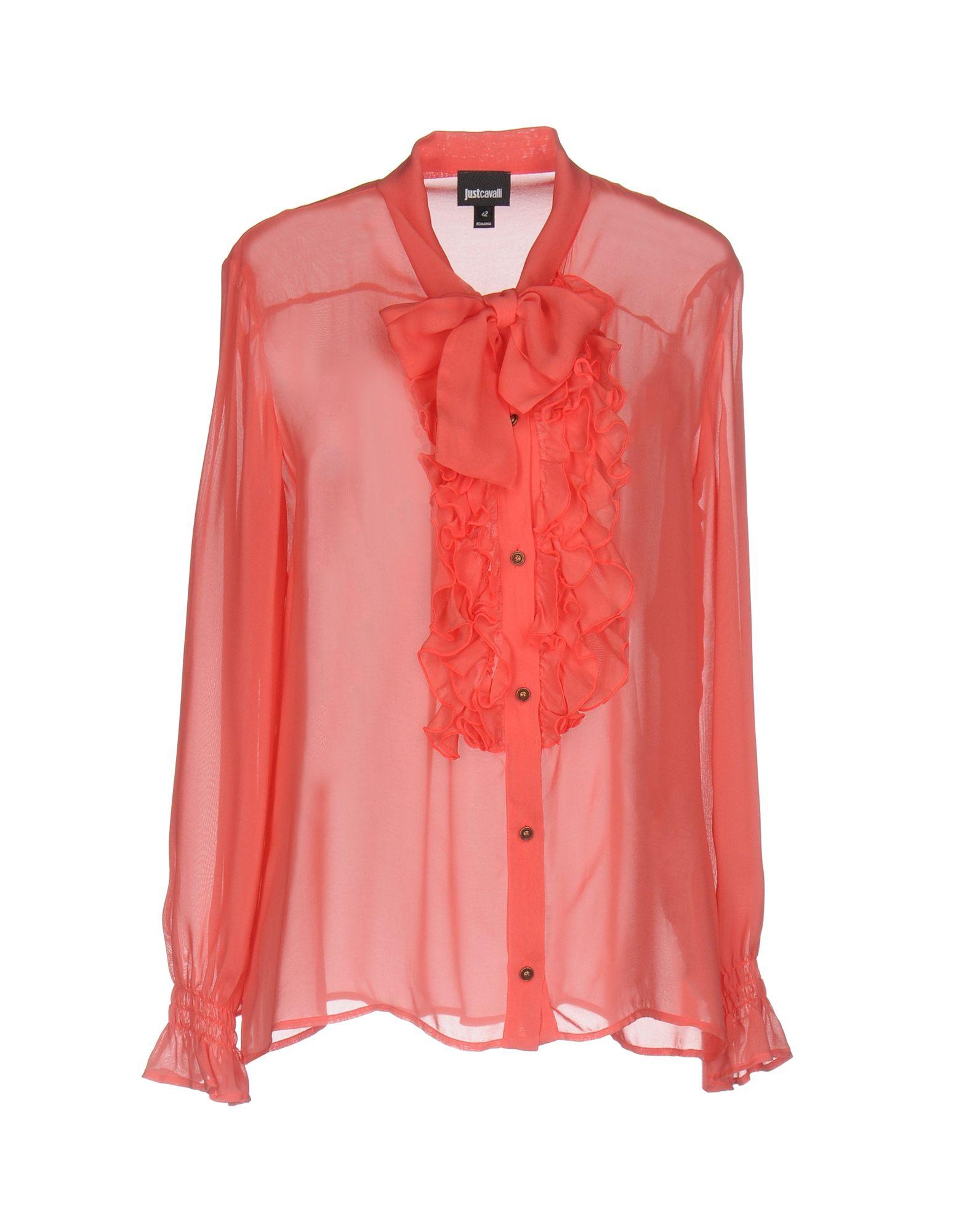JUST CAVALLI Damen Hemd Farbe Koralle Größe 6