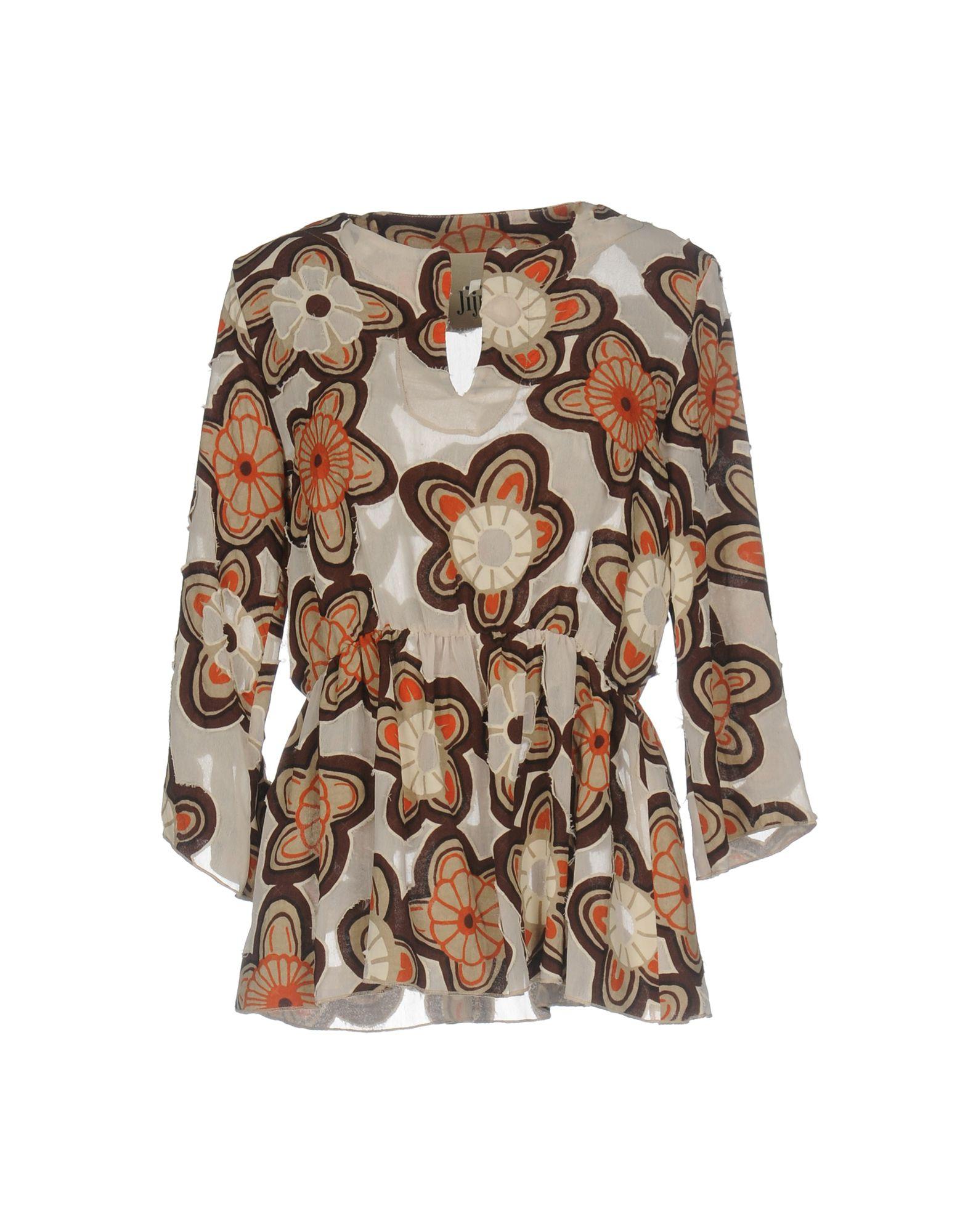 JIJIL Damen Bluse Farbe Beige Größe 7 jetztbilligerkaufen