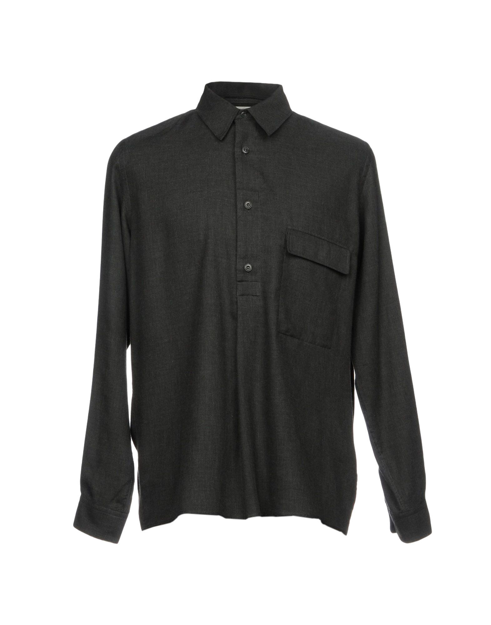 LEMAIRE Herren Hemd Farbe Blei Größe 4 - broschei
