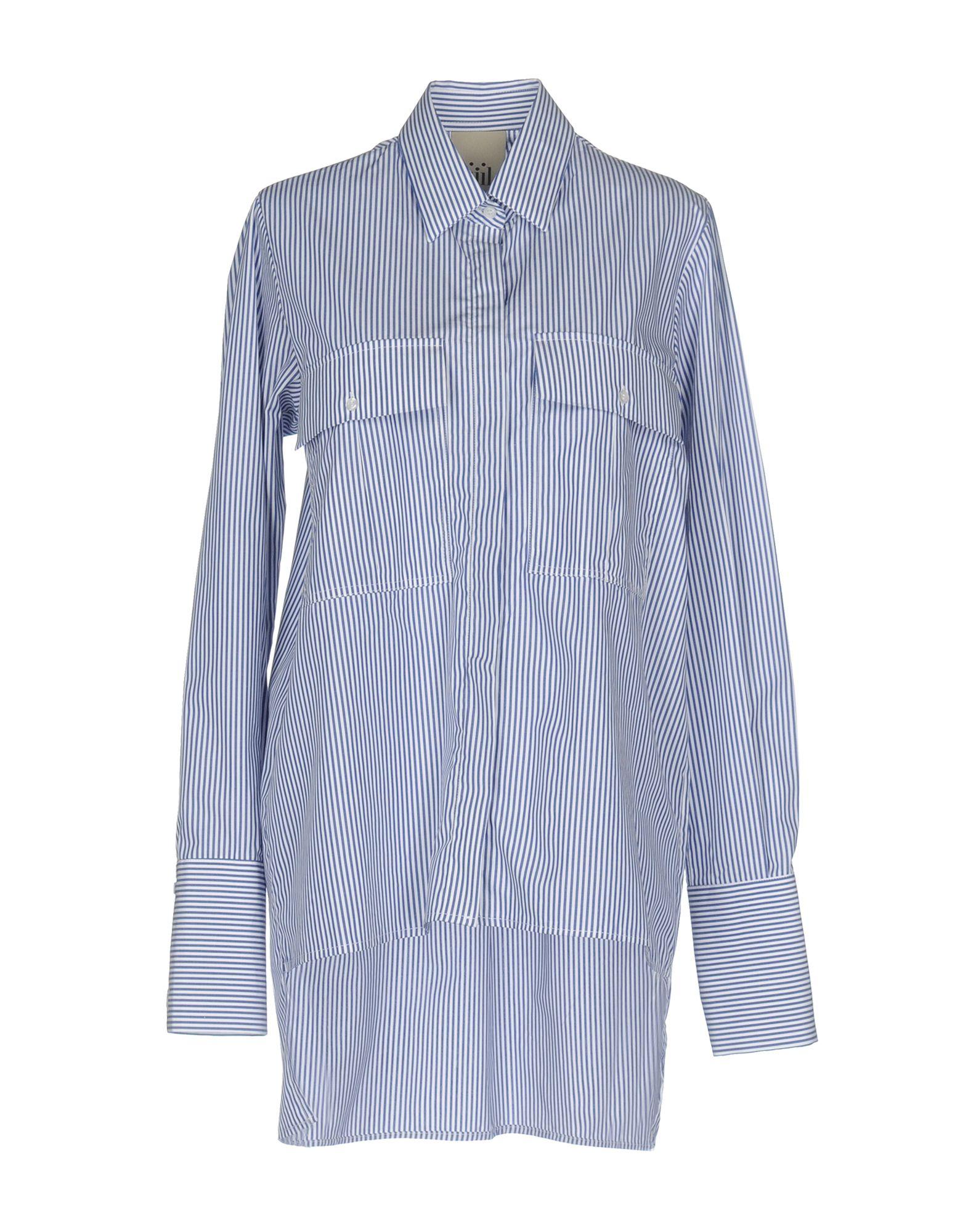 JIJIL Damen Hemd Farbe Blau Größe 6 - broschei