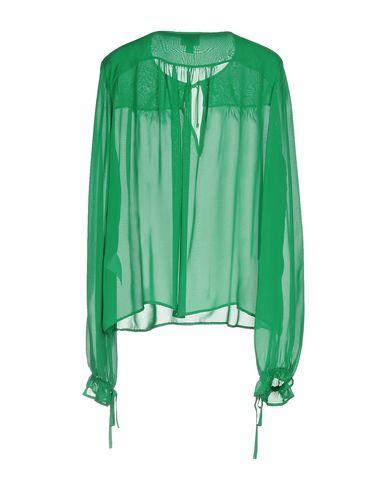 Фото 2 - Женскую блузку  зеленого цвета