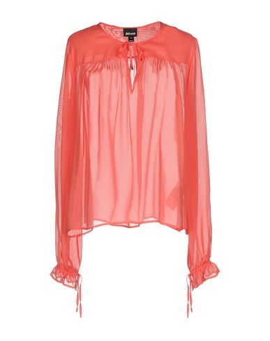 Фото - Женскую блузку  кораллового цвета