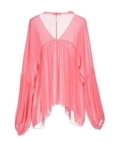 Фото 2 - Женскую блузку  розового цвета