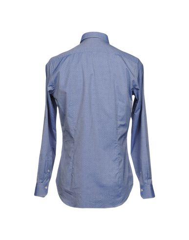 Фото 2 - Pубашка от MASTAI FERRETTI синего цвета