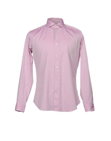 Фото - Pубашка от TRUZZI розового цвета