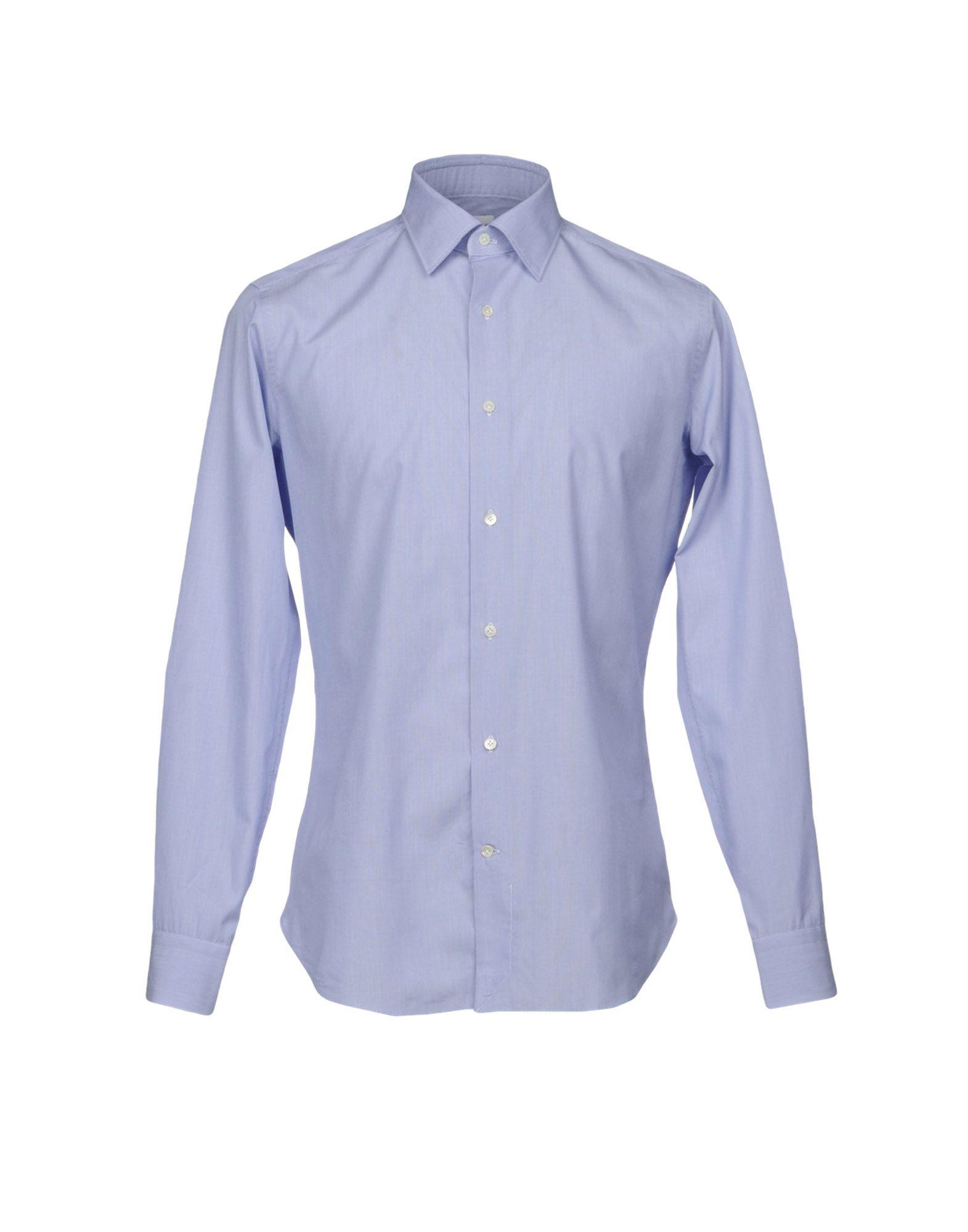 TRUZZI Herren Hemd Farbe Blau Größe 5