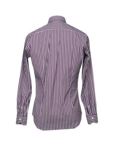 Фото 2 - Pубашка от MASTAI FERRETTI фиолетового цвета