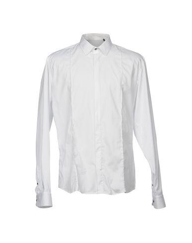 VICTOR COOL メンズ シャツ ホワイト XXL コットン 97% / ポリウレタン 3%
