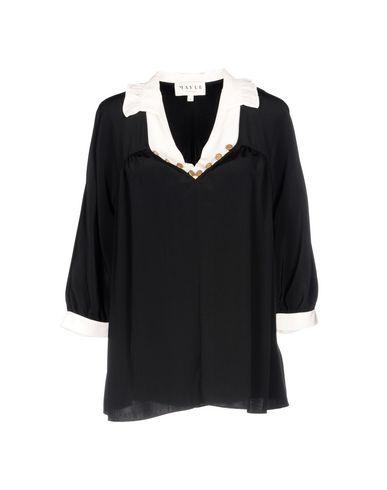 Фото - Женскую блузку MAYLE черного цвета