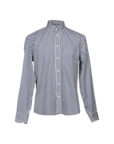 Купить Pубашка от UMIT BENAN темно-синего цвета