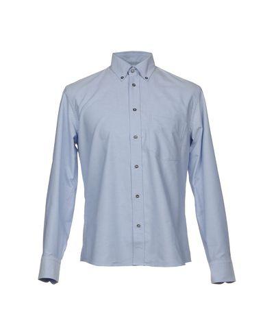 Фото - Pубашка от UMIT BENAN небесно-голубого цвета