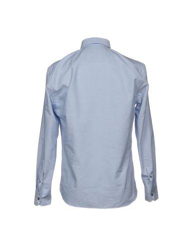 Фото 2 - Pубашка от UMIT BENAN небесно-голубого цвета