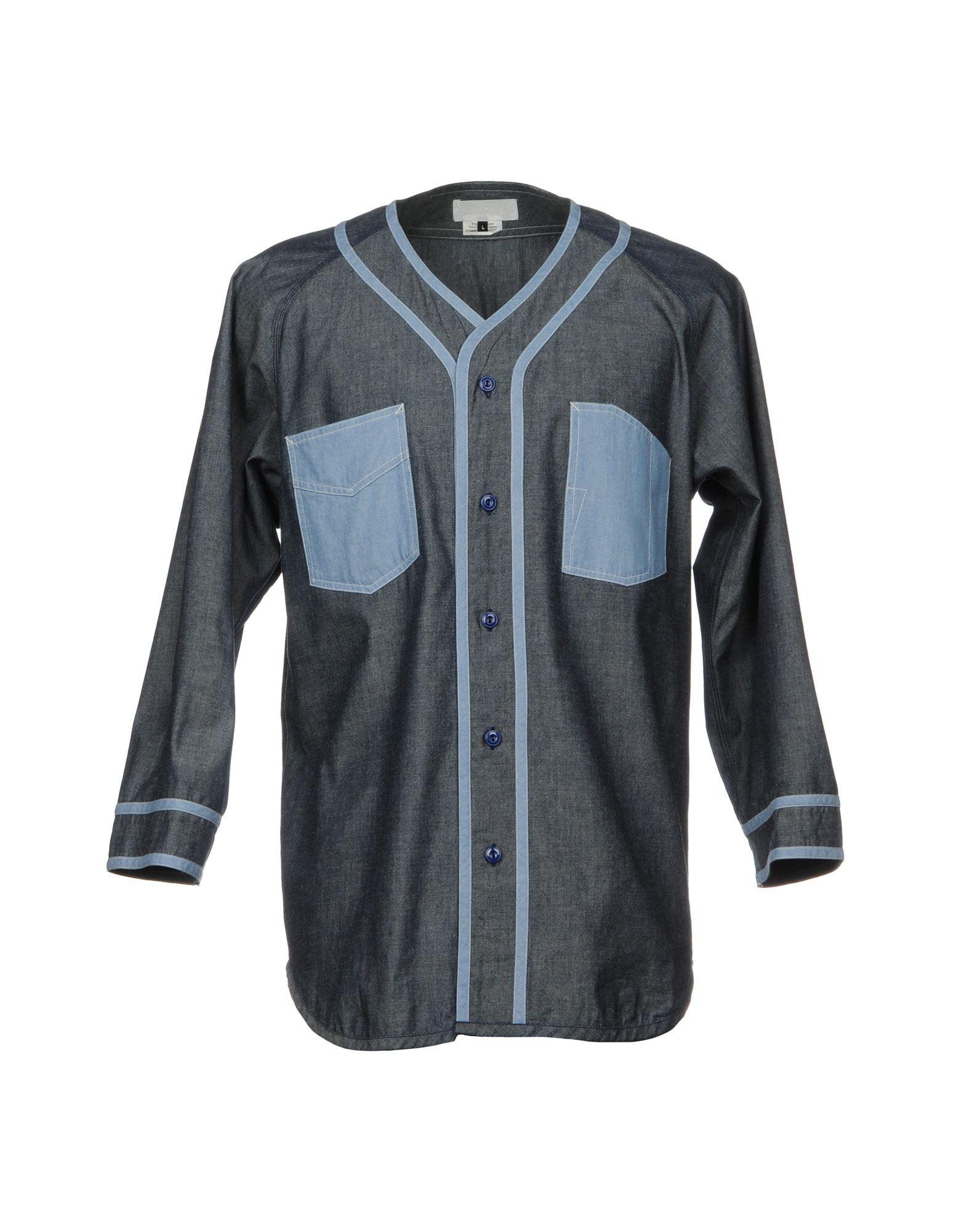 GANRYU Джинсовая рубашка ganryu джинсовая верхняя одежда