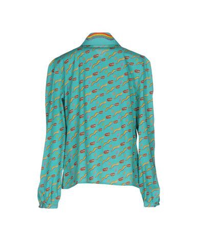 Фото 2 - Pубашка от OLYMPIA LE-TAN бирюзового цвета