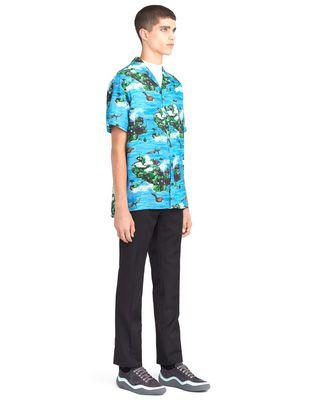 "LANVIN ""HAWAIIAN FANTASTIC"" BOWLING SHIRT Shirt U e"