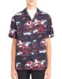 "LANVIN Shirt Man ""HAWAIIAN FANTASTIC"" BOWLING SHIRT f"