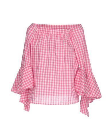 Фото 2 - Женскую блузку TPN розового цвета