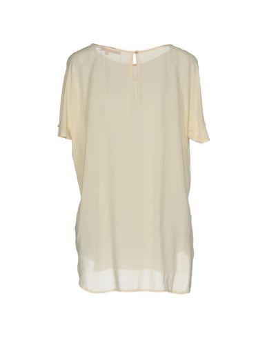 Фото 2 - Женскую блузку MANILA GRACE DENIM бежевого цвета