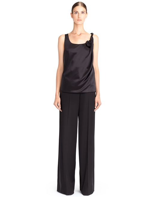SILK SATIN TOP - Lanvin