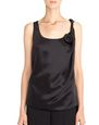 LANVIN Top Woman SILK SATIN TOP f