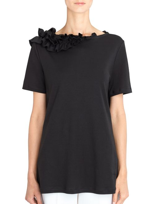 lanvin frilled top women