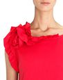 LANVIN Top Woman RED FRILL TOP f