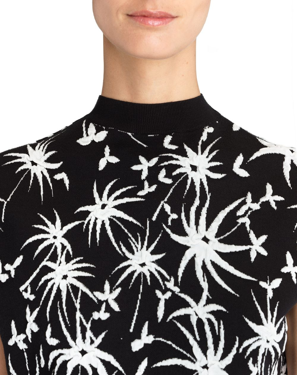 GRAPHIC JACQUARD SWEATER - Lanvin