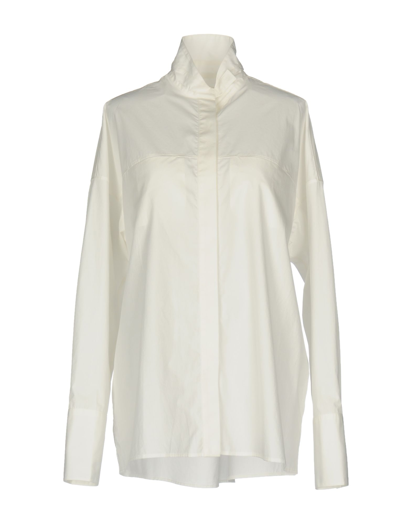 BY. BONNIE YOUNG Silk Shirts & Blouses in Ivory