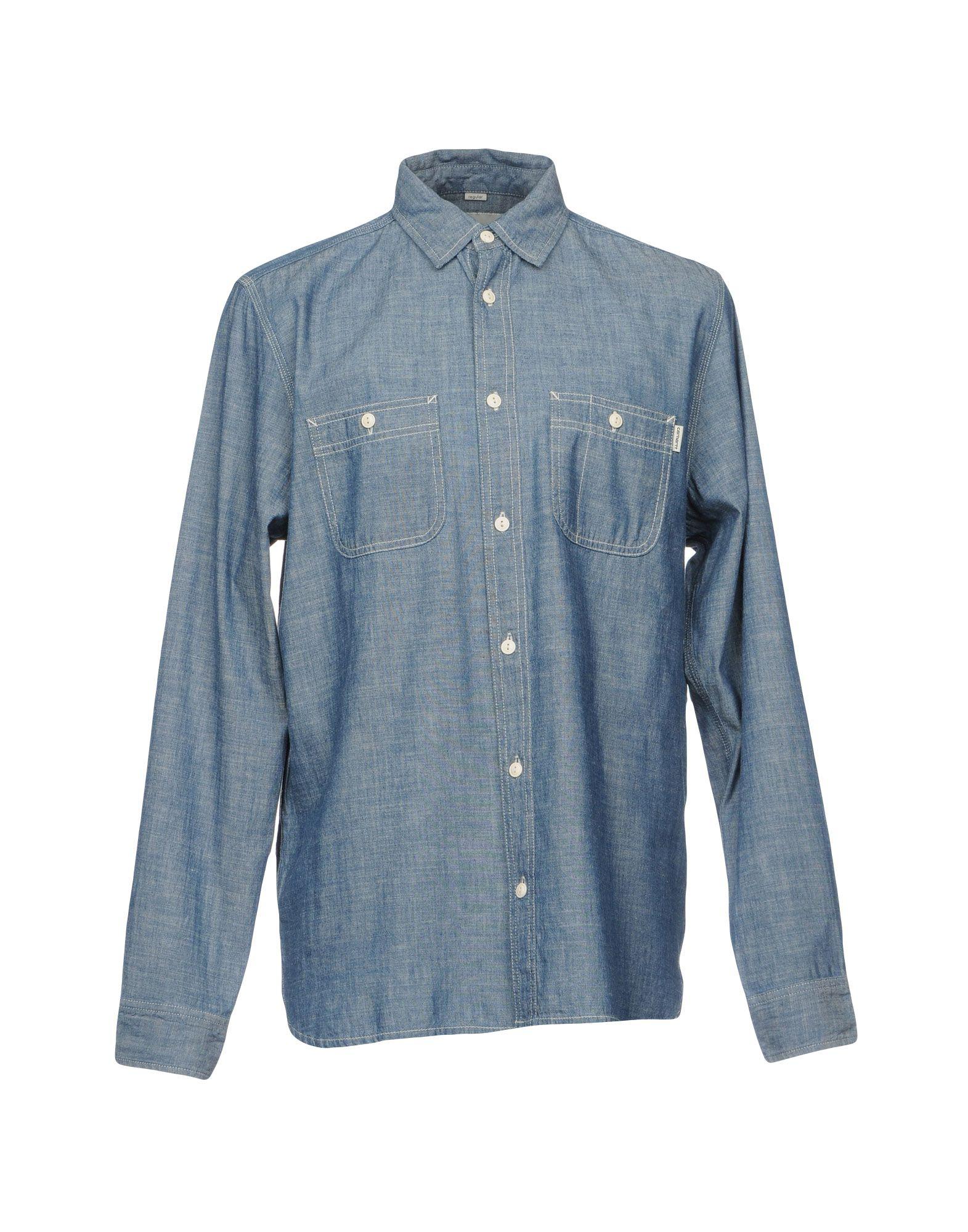 цена на CARHARTT Джинсовая рубашка