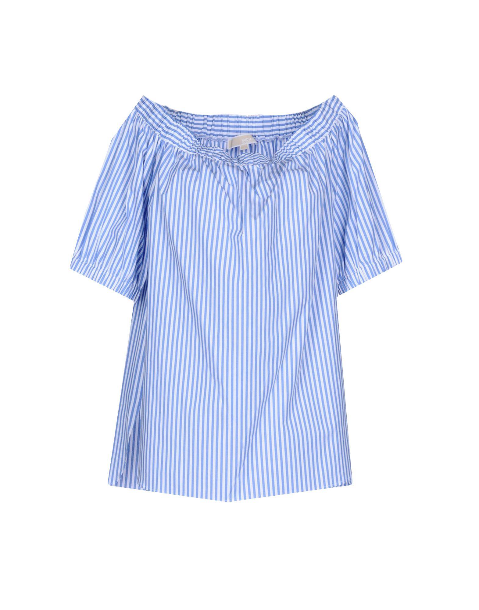 MICHAEL KORS Damen Bluse Farbe Blaugrau Größe 6