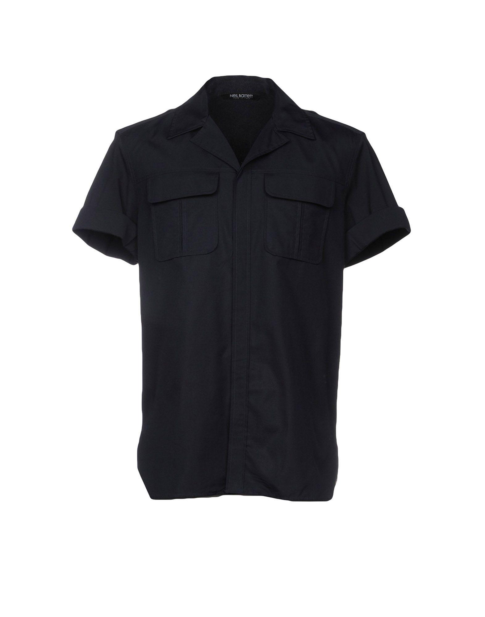 NEIL BARRETT Pубашка neil barrett футболка