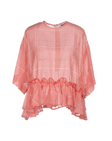 Фото - Женскую блузку MSGM красного цвета