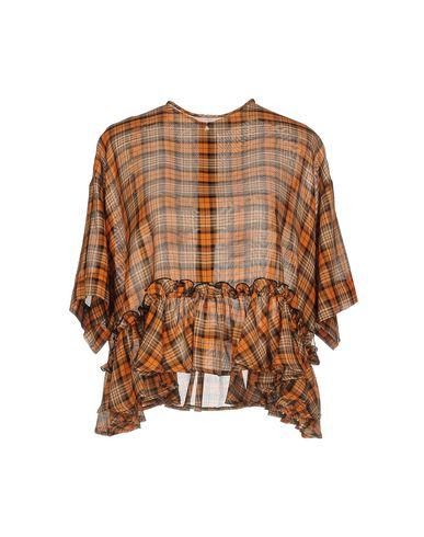 Фото - Женскую блузку MSGM оранжевого цвета